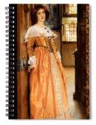 At The Doorway Spiral Notebook