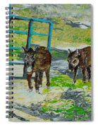 At The Farm Spiral Notebook
