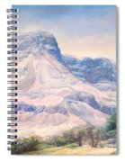 At The Foot Of Mountains Spiral Notebook