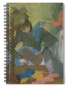 At The Hat Maker Spiral Notebook