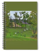 At The Hunt Spiral Notebook