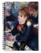At The Milliner S Spiral Notebook