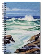 At The Ocean Spiral Notebook