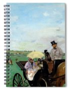 At The Races In The Countryside,  Spiral Notebook