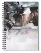 At The Races Spiral Notebook