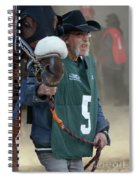 At The Racetrack 5 Spiral Notebook