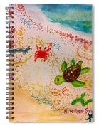 At The Seashore Spiral Notebook
