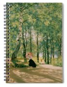 At The Summer Cottage Spiral Notebook