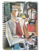 At The Tea Break Spiral Notebook