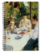 At The Tea-table Spiral Notebook