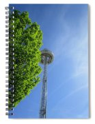 At The Top  Spiral Notebook
