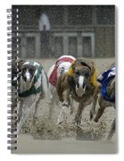 At The Track Spiral Notebook