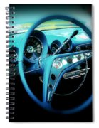 At The Wheel Spiral Notebook