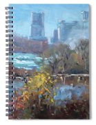 At Three Sisters Island Spiral Notebook
