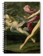 Atalanta And Hippomenes Spiral Notebook