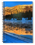Athabasca River Glow Spiral Notebook