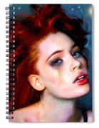 Athena Girl Spiral Notebook