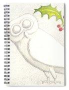 Athenian Owl Spiral Notebook