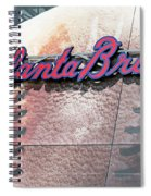 Atlanta Braves Spiral Notebook