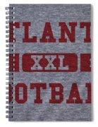 Atlanta Falcons Retro Shirt Spiral Notebook