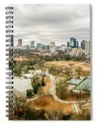 Atlanta Georgia City Skyline Spiral Notebook
