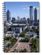 Atlanta Georgia Skyline Spiral Notebook