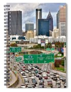 Atlanta Georgia Thrives Spiral Notebook