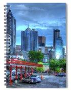 Atlanta Landmark The Varsity Art Spiral Notebook