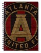 Atlanta United Barn Door Spiral Notebook