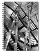 Atlantic Avenue Arts Block Building Spiral Notebook