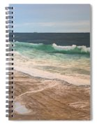 Atlantic Beach Waves Spiral Notebook