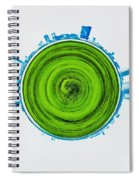 Atlantic City Abstract Spiral Notebook
