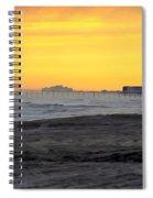Atlantic City At Dusk Spiral Notebook