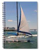 Atlantic City Series -12 Spiral Notebook