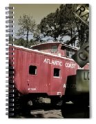 Atlantic Coast  Line Railroad Carriage Spiral Notebook