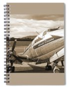 Atlantic Division Sepia Spiral Notebook