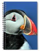 Atlantic Puffin Spiral Notebook