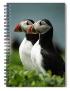 Atlantic Puffins Spiral Notebook