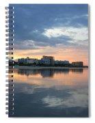 Atlantic Sunset Spiral Notebook