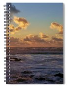 Atlantic Sunset Spiral Notebook