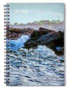 Atlantic Waves 2 Spiral Notebook