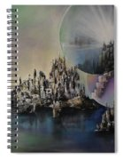 Atlantis Resurrected Spiral Notebook