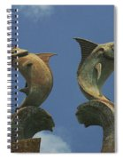 Atlantis Swordfish Spiral Notebook