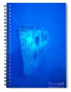 Atlantis Wreck Spiral Notebook