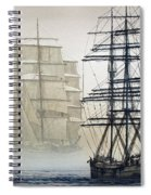 Atlas And Inverclyde Spiral Notebook