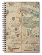 Atlas Miller Nautical Atlas Spiral Notebook