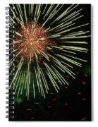 Atom Burst Spiral Notebook