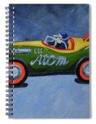 Atom Racer  Spiral Notebook