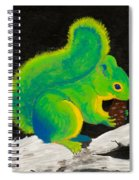 Atomic Squirrel Spiral Notebook