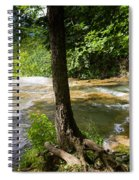 Atop Falling Spring Fall Spiral Notebook